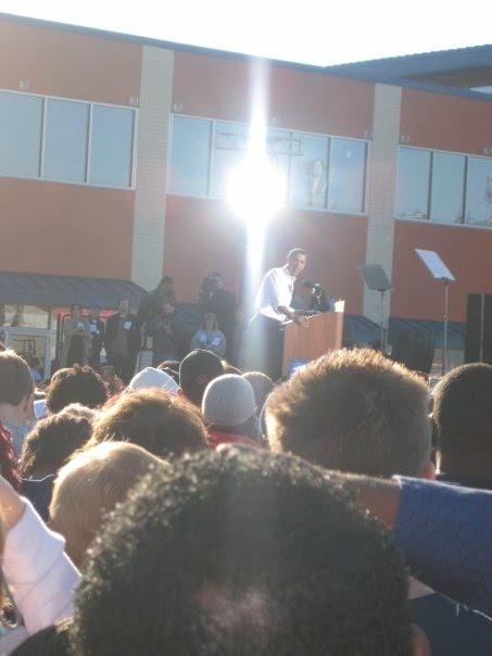 obama 2008 corey live